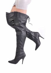 Shop for Plus Size Thigh High Boots at Sincity Playwear