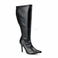 Pleaser Footwear  Lust-2000X  Plus Size Wide Width Knee High Boot