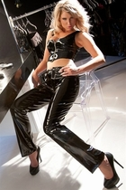 Sexy Vinyl Pants, Shorts and Catsuits