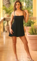 Ujena Swimwear  M629  Silky Babydoll Mini Dress