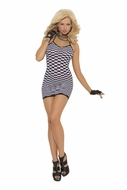 Slip Style Checkered Mini Dress 1534