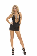 Super Deep V Club Dress 8286