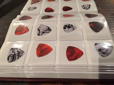 Pick Punch Guitar Pick Album