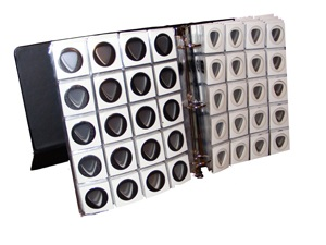 240 Guitar Pick Display Album with Stand