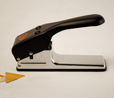 "355 Large Triangle ""Dorito Chip"" Pick Punch"