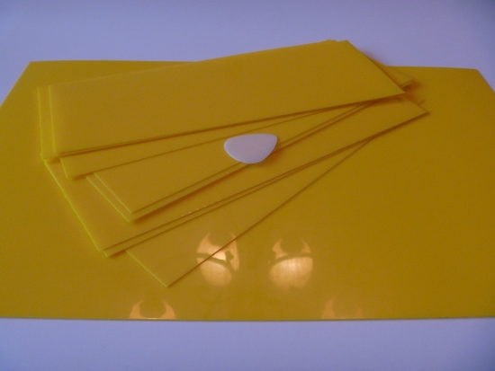50mm Yellow Acetal Delrin Sheeting