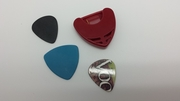 Large Guitar Pick Holder Case with sticker back