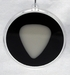Guitar Pick Ornament Black