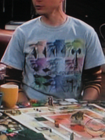 """SHELDON"" T/Seen on TV:  ""Are You Grid-Equipped?""© - for Men"