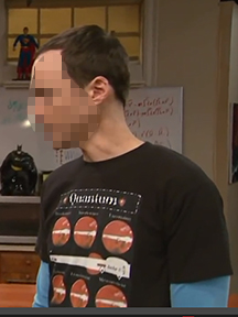 """SHELDON"" T/Seen on TV:  ""Quantum""© - for Men"
