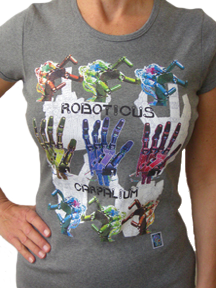 """SHELDON"" T:  ""Roboticus Carpalium""� - for Women"