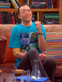 """SHELDON"" T/Seen on TV:  ""Atmospheric CO<sub>2</sub>""� - for Men"