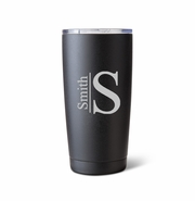 Húsavík 20 oz. Black Matte Double Wall Insulated Tumbler