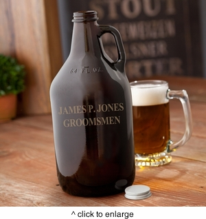 Amber Growler - click to enlarge