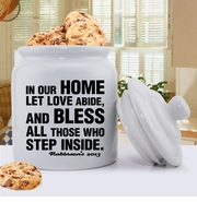 Antique Style Personalized Prayer Cookie Jar