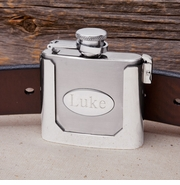 Belt Buckled Flask