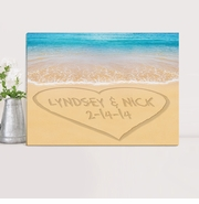 Personalized Couples Canvas Prints
