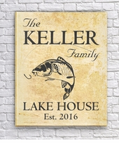 Carp Canvas for a Family Lake Home