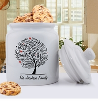 Family Roots Cookie Jar