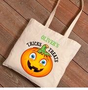 Halloween Pumpkin Trick-or-Treat Canvas Bag