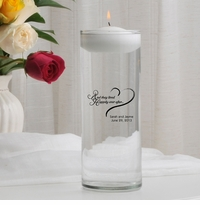 Happily Ever After Floating Unity Candle (HEA)
