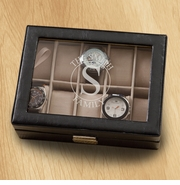 Monogrammed Watch Box