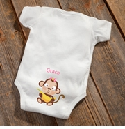 NEW Personalized Baby Girl Booty Bodysuit