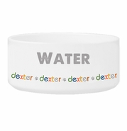 Personalized Boy Pet Bowl
