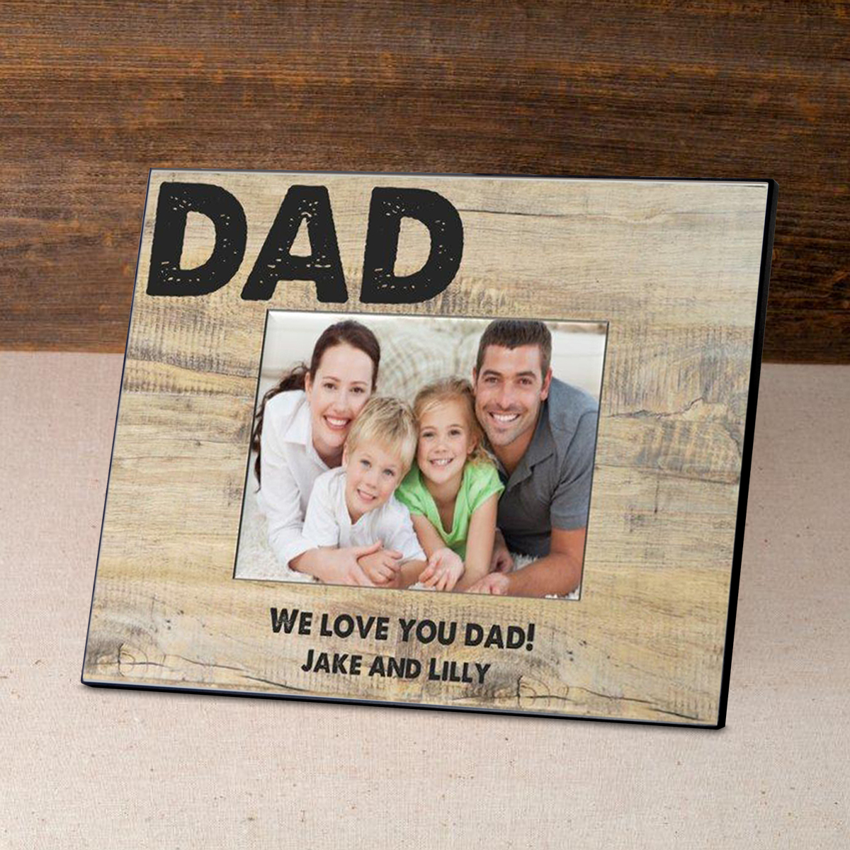 Personalized Father's Day Frame-Classic Dad