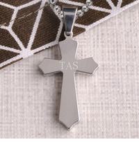Personalized Cross Necklace Pendants