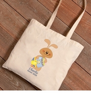 Personalized Easter Canvas Bags - Bunnies