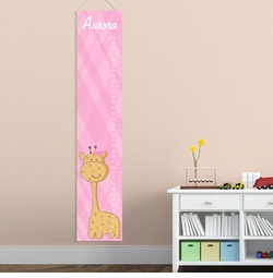 Personalized Girls Growth Charts