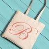 Personalized Initial Tote - click to enlarge