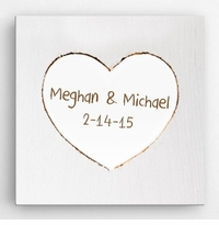 Personalized Romance & Love Canvas