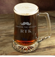 Personalized Mustache Mug for Groomsmen