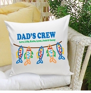 Personalized Parent Throw Pillows