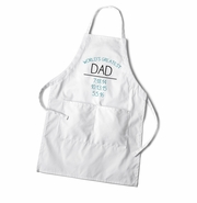 Personalized World's Greatest Dad Apron