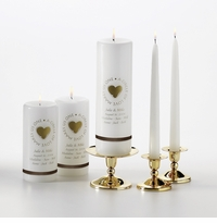 Second Marriage Candle Set