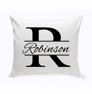 Stamped Design Throw Pillow