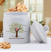 Traditional Family Tree Cookie Jar
