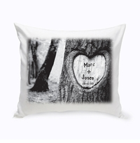 Tree of Love Throw Pillow