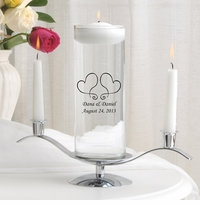 Two Heats Floating Unity Candle Set (S17)
