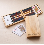 Wood Cribbage Game Set