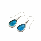 Roman glass earrings dewdrop