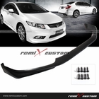 12-13 Honda Civic 4DR Sedan Modulo PU Front Body Bumper Lip Kit Spoiler