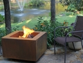 30 Inch Square Wood Burning Fire Pit - Free Top