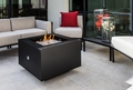 Powder Coated Fire PIt  - 31 Inch Square with Stainless Steel Fire Bowl