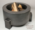 38 Inch Round Wood Burning with a Gas Kit - Free Top
