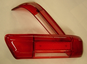 NEW REPLACEMENT RED TAIL LIGHT LENS FITS MERCEDES W113 230SL 250SL 280SL W111 220SE 280SE 3.5 COUPE