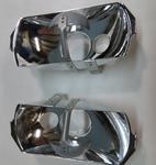 2X Euro style Head light reflector for Mercedes w111 w108 w113